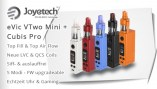 บุหรี่ไฟฟ้า JOYETECH EVIC VTWO MINI WITH CUBIS PRO FULL KIT